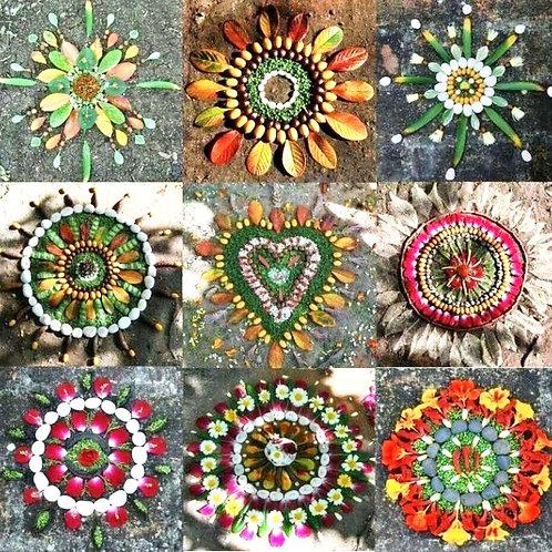 Mandalas & Nature Art