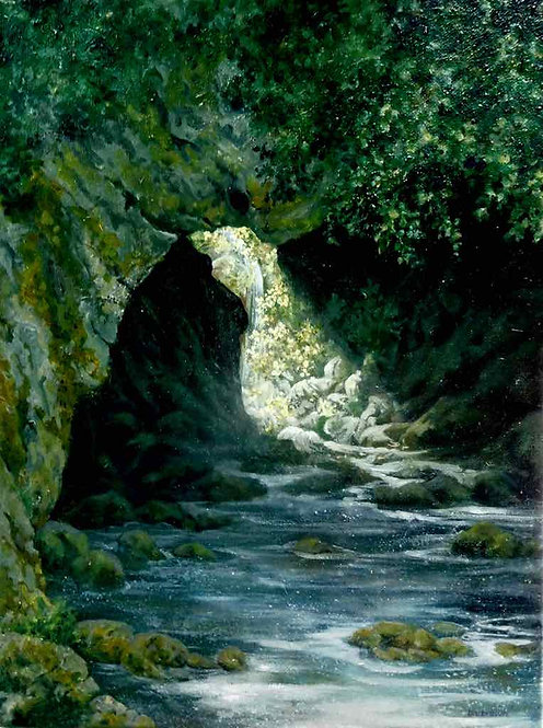 Memory Invisible Be Soothed In Flowing Waters