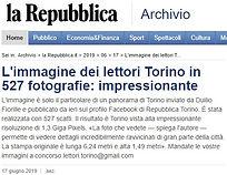 Articolo Repubblica Torino 17 Giugno 201