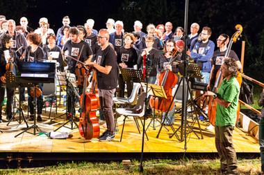Orchestra classica a Valgioie