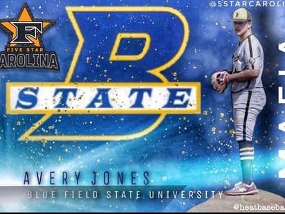 Avery Jones 2021 Grad Blue Field State University
