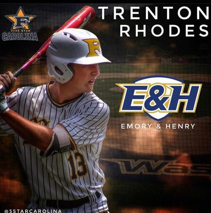 Trenton Rhodes 2021 Grad Emory & Henry