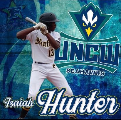Isaiah Hunter 2023 Grad UNC Wilmington