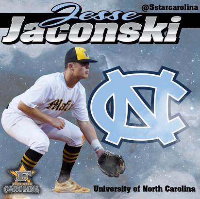 Jesse Jaconski 2022 Grad UNC Chapel Hill