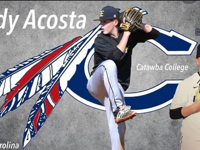 Cody Acosta 2020 Grad Catawba College