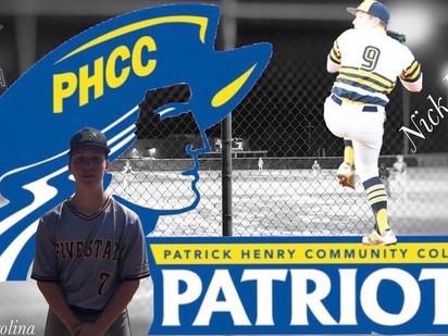 Nick Duncan 2020 Grad Patrick Henry CC