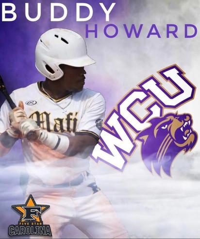 Buddy Howard 2022 Grad Western Carolina University