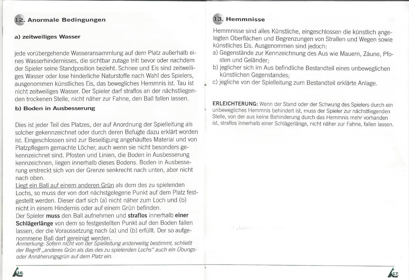 Etikette und Regeln 09