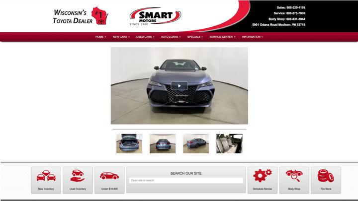 Dealer Cloned Website Landing Pages