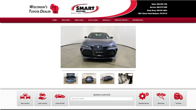 Dealer Cloned Website Landing Pages