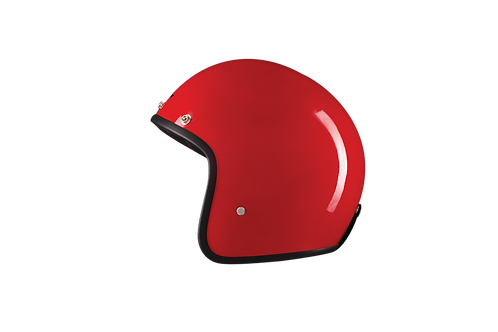 CAPACETE CAFE RACER GLOSSY RED