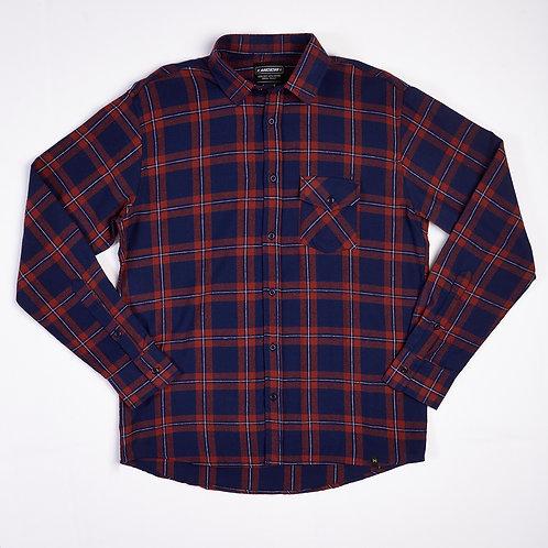 Camisa Ungu Flannel