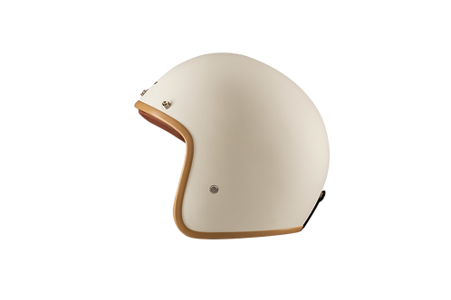 CAPACETE CAFE RACER MATT CREAM