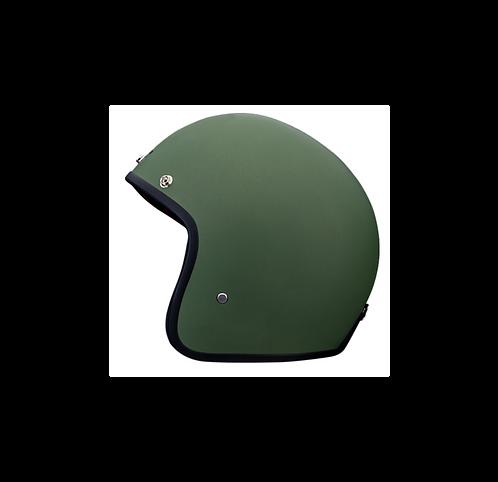 CAPACETE MATT GREEN BLACK