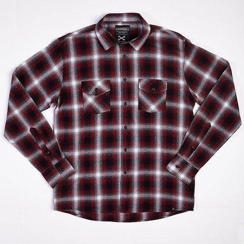 Camisa Tiga Warna Flannel