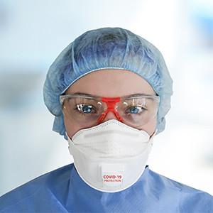 Welche medizinische Maske schützt wie?