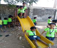 desh seva samiti school kids on slide.jp