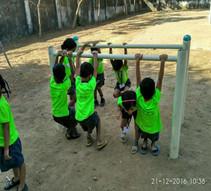 desh seva samiti school kids playground.