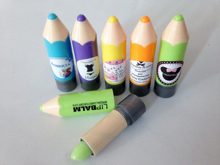 Gloss labial en forma de lápiz