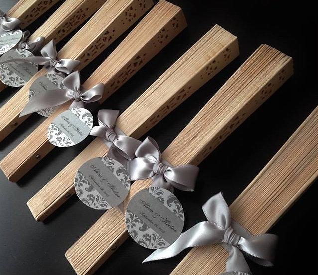 Abanicos de madera