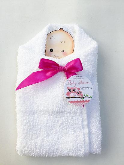Bebé de toalla