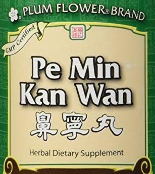 Treating Sinus Symptoms Naturally with Pe Min Kan Wan