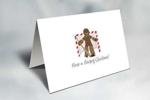 Gingerbread Tender Christmas Card