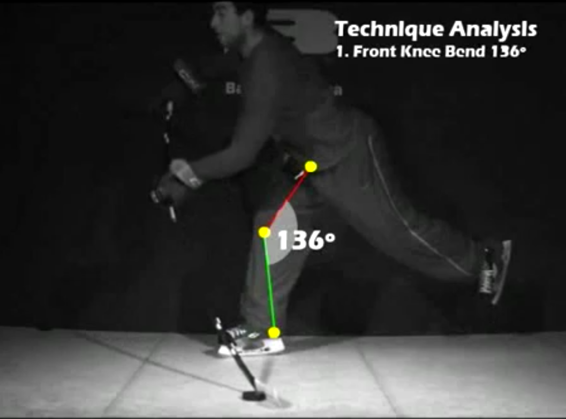 Stick Fitting and Video Analysis $75