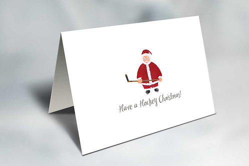 Sniper Claus Christmas Card
