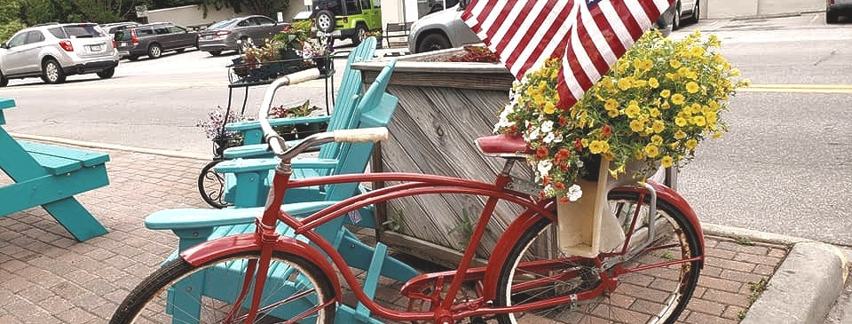 Burnsville, NC.  Home of Mountain Time on Main Street