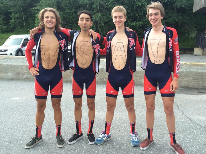 Tour de l'Abitibi 2015 -- USA! USA!