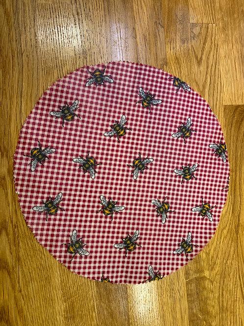 Beeswax Wrap x 1 (30cm Diameter)