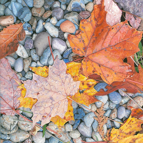 """Fallen Leaves"" Giclee Print"