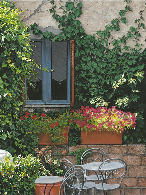 """Sienna Windowscape"" Giclee Print"