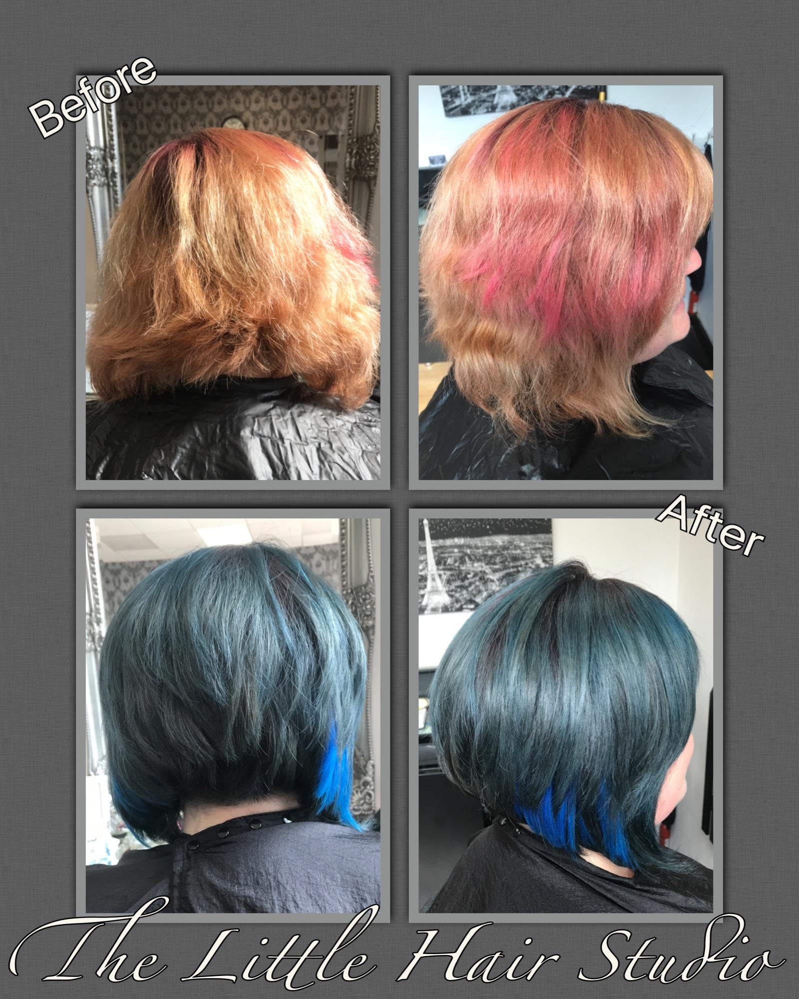 petroleum hair