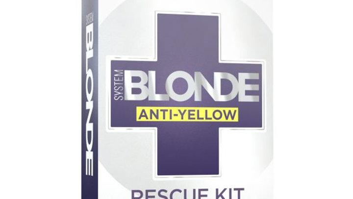 SYSTEM BLONDE ANTI-YELLOW RESCUE KIT