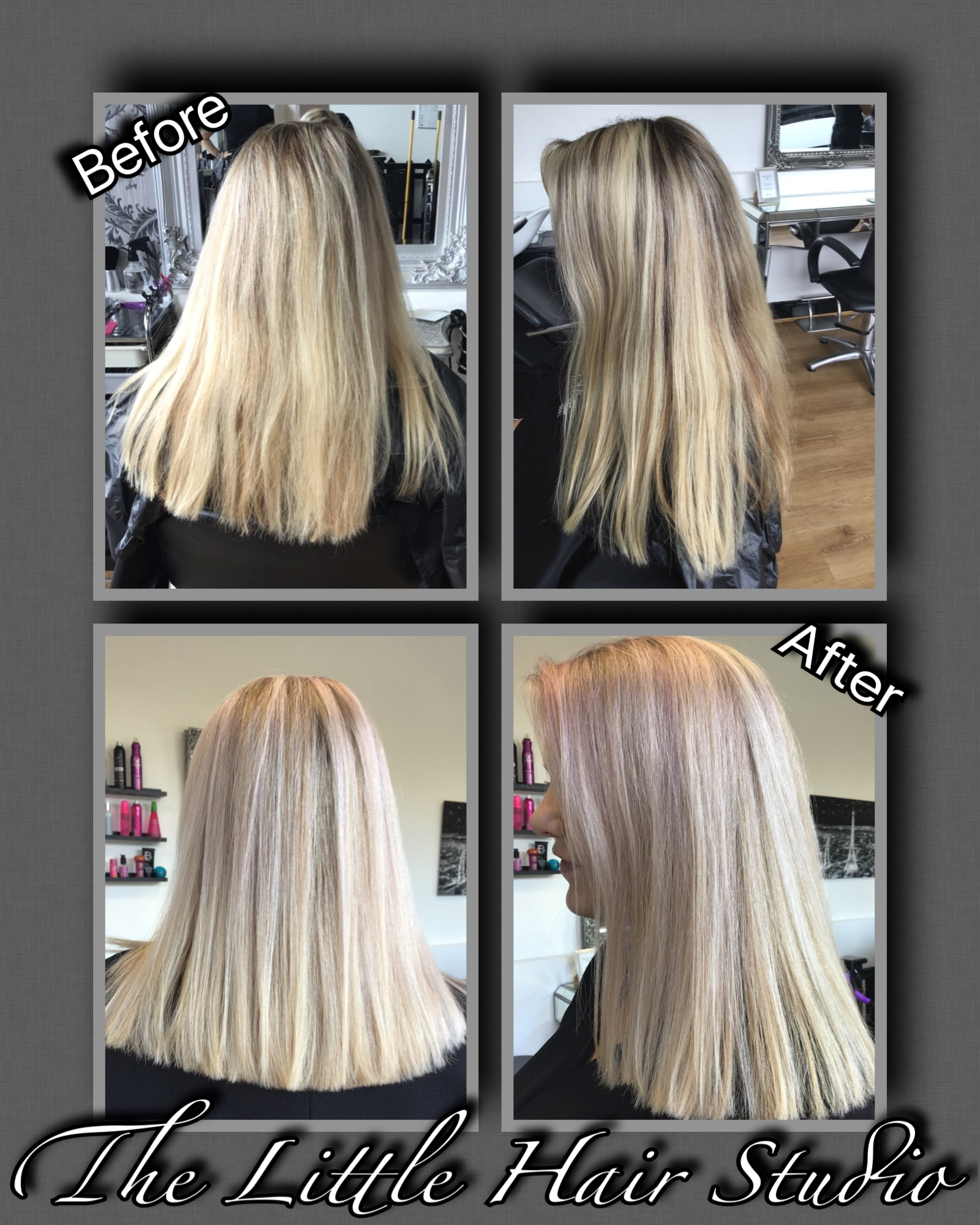 Highlights & Pink Toner