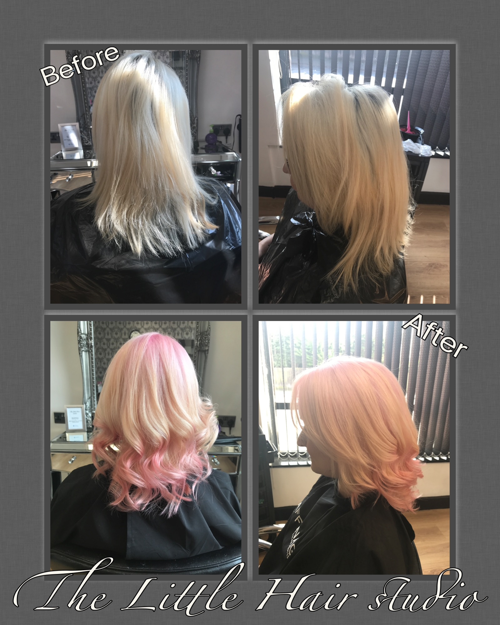 candy floss pink