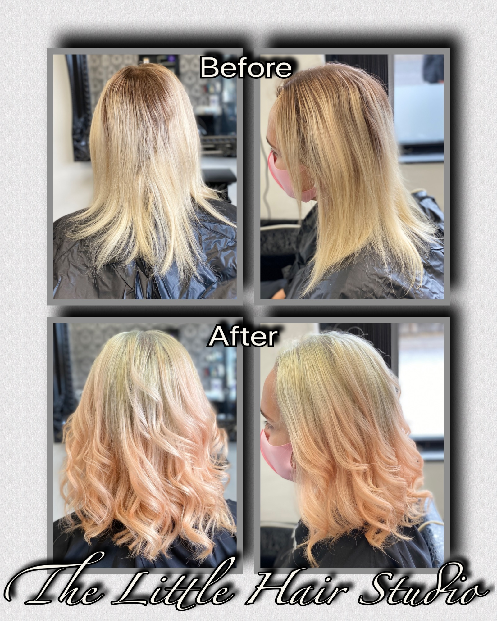 Peach ombre by Jill