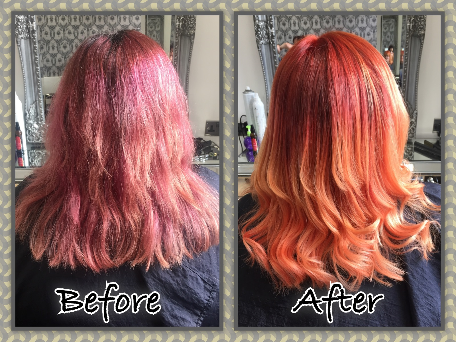 Fire Ombre by Jill
