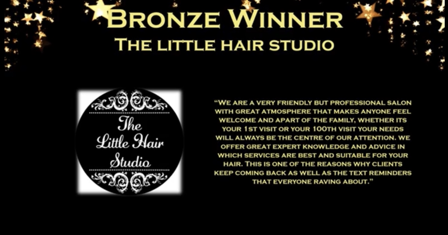 Award Winning salon for 2020