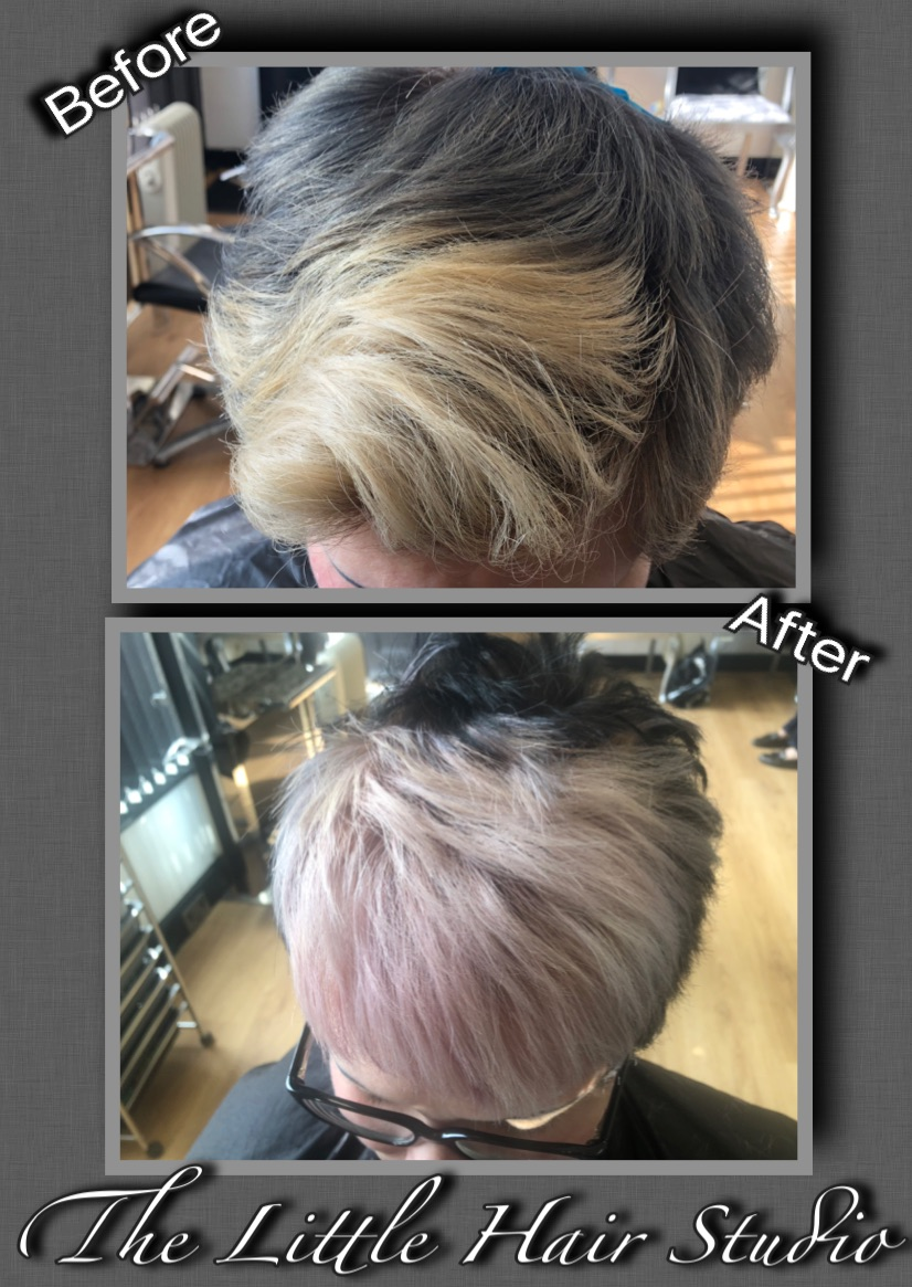 blonde to pink By Jill