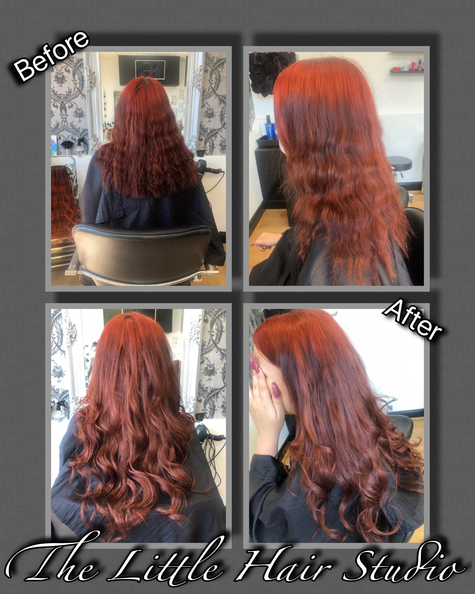 Sewn-in Weave Hair Extensions