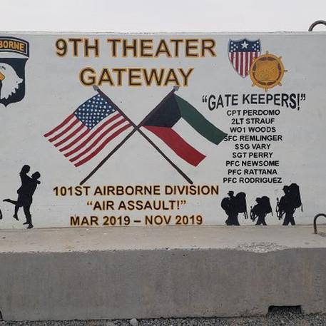 9th Theater Gateway- 101st Airborne Divi