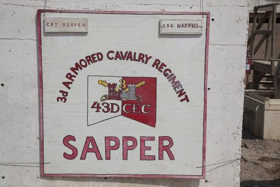 3RD AR CAL REG, 43D CEC SAPPER