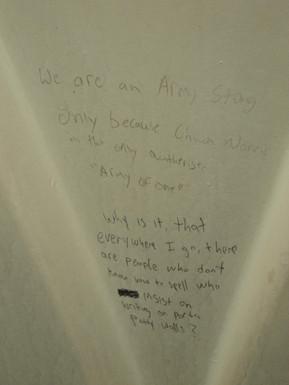 Chuck Norris graffitti