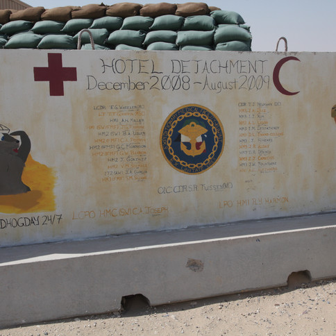 H Det- Expeditionary Medical Facility Kuwait