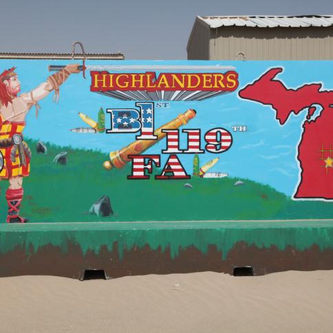 B 1-119 FA HIGHLANDERS