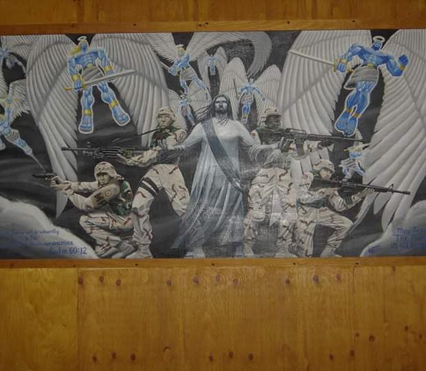 Abu Ghraib Mural