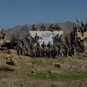 Bravo Co 1-4 Infantry- FOB Lane AF
